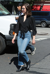 Alison Brie - Out in NYC 6/19/18