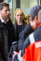 Margot Robbie - At Berlin Tegel Airport 1/16/18