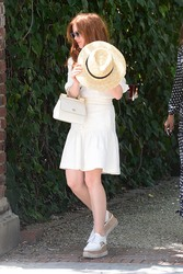 Isla Fisher - Stella McCartney's H.E.A.R.T Brunch in LA 4/11/18