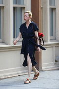 Julianne Moore & Michelle Williams - Filming 'After The Wedding' in NYC 5/29/18