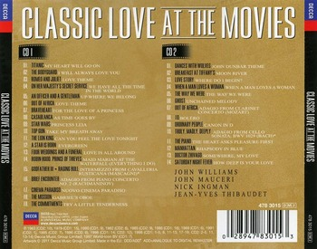 VA - Classic Love At The Movies (2011)