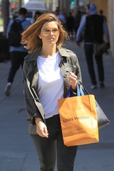 Maria Menounos - Shopping in Beverly Hills 4/18/18