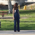 Selena Gomez at Lake Balboa park in Encino 02/02/2018a56dec737637603