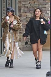 Vanessa & Stella Hudgens Leaving Starbucks in Los Angeles 04/19/2018532224829365683