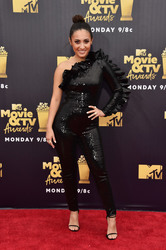 Francia Raisa - 2018 MTV Movie & TV Awards in LA 6/16/18