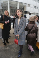 Rowan Blanchard - Chloe Fashion Show in Paris 3/1/18