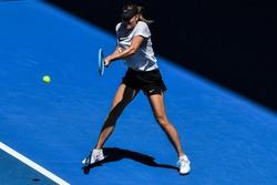 Maria Sharapova - Practicing in Melbourne 1/11/2019