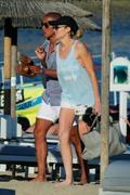 Stephanie Pratt in Bikini on the Beach in Mykonos 06/19/2018f06af1899337674