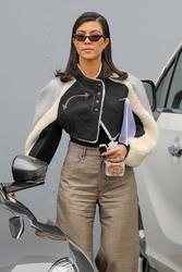 Kourtney Kardashian - Arriving at Independent Studios in Woodland Hills 3/20/18