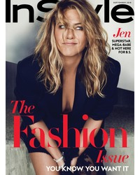 Jennifer Aniston - InStyle Magazine September 2018