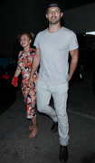 Hayden Panettiere - Out for dinner barefoot in Hollywood 8/2/18