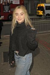 Sabrina Carpenter - Arriving at a concert in London 6/12/18