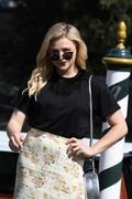 Chloe Grace Moretz - Arriving at her hotel in Venice, Italy 9/2/18
