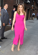 Alicia Silverstone - Arriving at The Late Show with Stephen Colbert in NYC 6/11/18