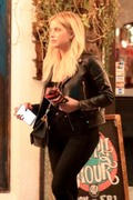 Ashley Benson - Hanging out with friends in West Hollywood 8/10/18
