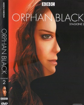 Orphan Black - Stagione 2 (2013 - 2017) 3xDVD9 COPIA 1:1 ITA ENG