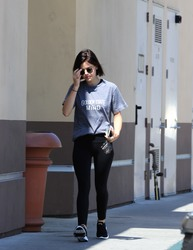 Lucy Hale - Out in Studio City 7/31/18