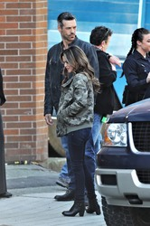 Rachel Bilson - On the set of 'Take Two' in Vancouver 4/27/18