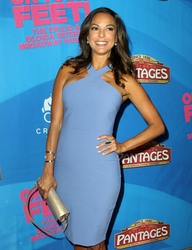 Eva LaRue  -                             ''On Your Feet The Story of Emilio & Gloria Estefan'' Premiere Hollywood July 10th 2018.