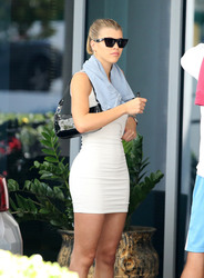 Sofia Richie - Attending a yacht show in Miami 2/16/19
