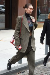 Bella Hadid - Out in NYC 2/9/18