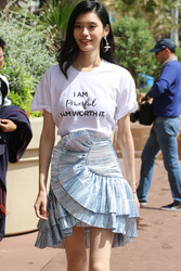 Ming Xi - Out in Cannes 5/14/18