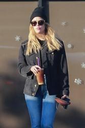Ashley Benson - Leaving The Coffee Bean & Tea Leaf in LA 12/11/18