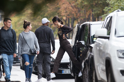 Kendall Jenner - Arriving at Longchamp Offices in Paris 9/13/18