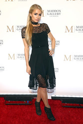 Paris Hilton - The VIP Opening of Maddox Gallery with Inaugural 'Best of British' in LA 10/11/18