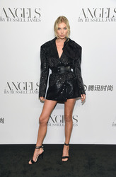 """Elsa Hosk - """"ANGELS"""" By Russell James Book Launch And Exhibit in NYC 9/6/18"""