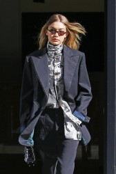 Gigi Hadid - Leaving her apartment in NYC 2/8/18