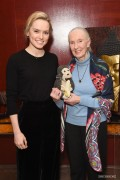 Daisy Ridley -                 Porter Magazine's Incredible Women Talk with Dr. Jane Goodall London January 30th 2018.