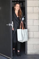 Jessica Alba - Leaving the gym in LA 2/28/18