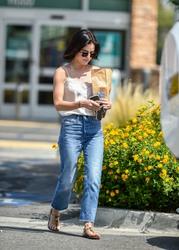 Lucy Hale - Leaving Walgreens in LA 8/20/18