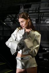 Grace Elizabeth - Off-White Fashion Show in Paris 2/28/19