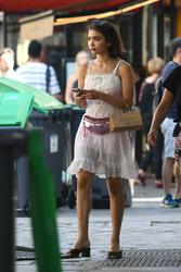 Rowan Blanchard - Shopping in Paris 6/29/18