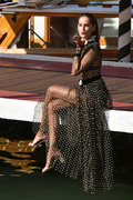 Izabel Goulart - On set of a photoshoot in Venice, Italy 8/28/18