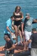 Gigi Hadid - Bikini candids in Mykonos 7/2/18