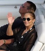Jennifer Lopez - On vacation in Capri 8/8/18