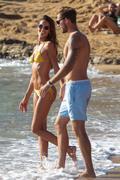 Izabel Goulart - Bikini candids in Mykonos 7/13/18
