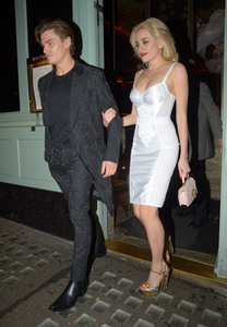 Pixie Lott - Out for dinner in London 3/7/19