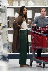 Jessica Alba - Shopping at Target in LA 11/21/18