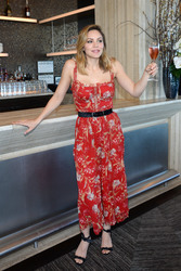 Katharine McPhee - Bar SixtyFive at Rainbow Room in NYC 4/26/18