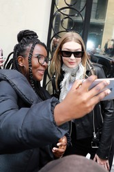 Gigi Hadid - Out in Paris 5/2/18