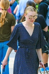 Dakota Fanning - Out in NYC 6/8/18