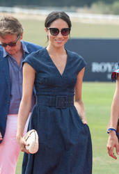 Meghan Markle - Sentebale Polo Cup at Berkshire Polo Club 7/26/18