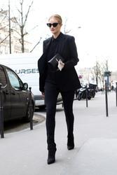 Rosie Huntington-Whiteley - Out in Paris 2/26/18