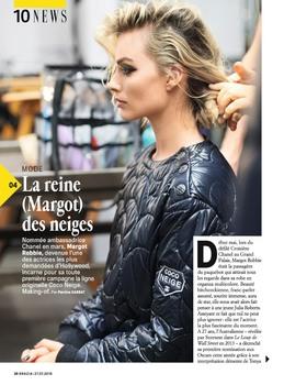 Margot Robbie -           Grazia Magazine (France) July 27th 2018.