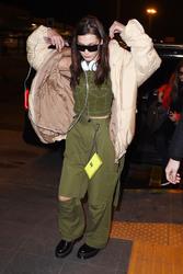 Bella Hadid - At the airport in Milan 2/25/18
