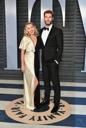 Miley Cyrus - 2018 Vanity Fair Oscar Party 3/4/18